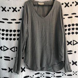 Cloth and Stone Grey Shirt